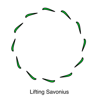 Lifting Savonius