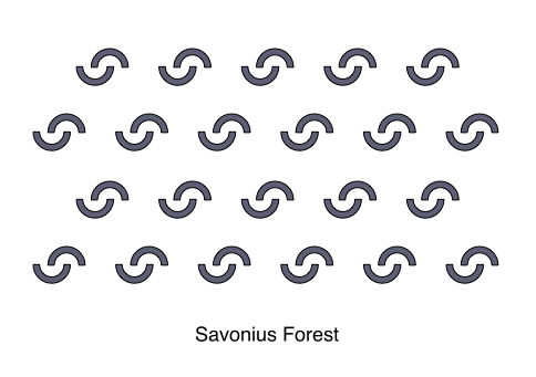 Savonius Forest