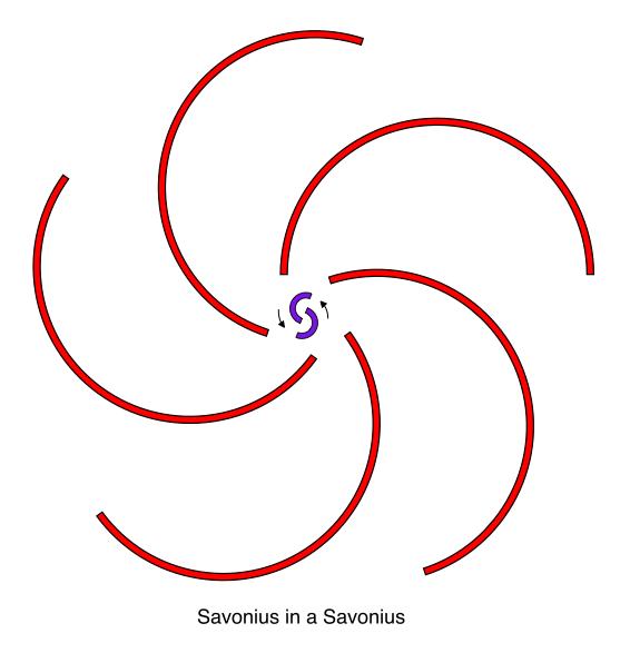 Stationary Savonius Turbine | Salient White Elephant
